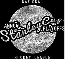 Vintage Stanley Cup Playoffs Photographic Print
