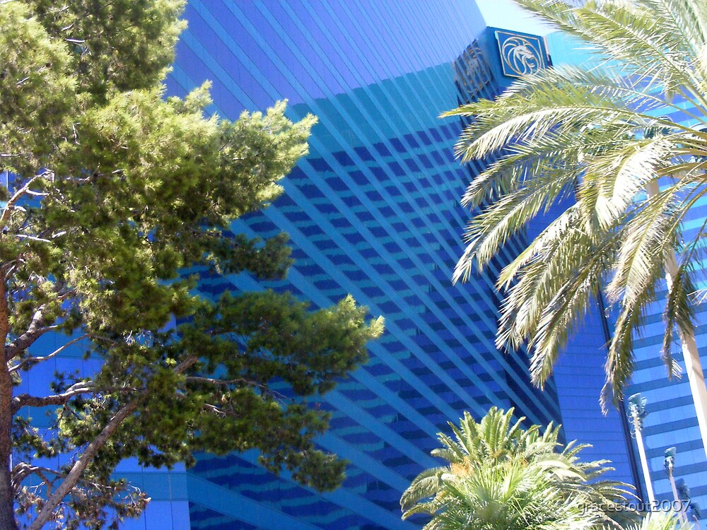 MGM GRAND HOTEL/CASINO REFLECTIONS by gracestout2007