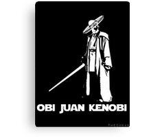 Obi Juan Kenobi Canvas Print