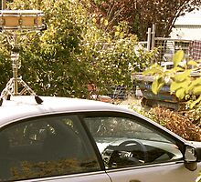 Snare Drum on the Car by ferylbob