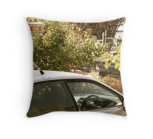 Snare Drum on the Car Throw Pillow