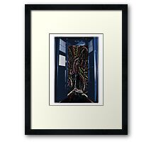 Heart of the Tardis Framed Print