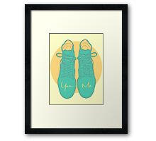 You & Me Framed Print