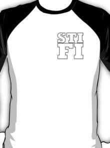 Sticky Fingers White Logo STIFI T-Shirt