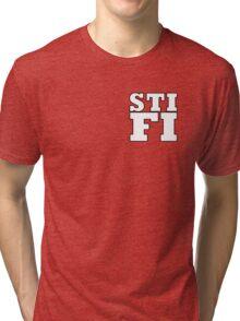 Sticky Fingers White Logo STIFI Tri-blend T-Shirt