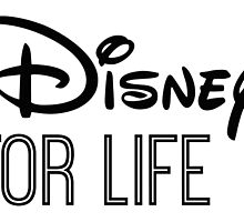 Disney For Life in black by AllieJoy224