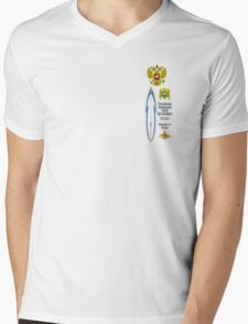 Russian Federation of Surf Photographers Mens V-Neck T-Shirt