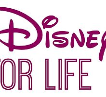 Disney For Life in purple by AllieJoy224