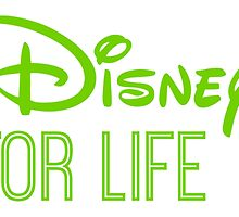 Disney For Life in green by AllieJoy224