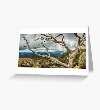 Cresta Valley - Mt Buffalo Greeting Card