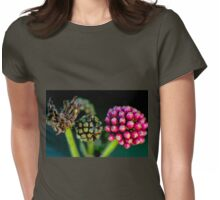 Pink Berries Womens Fitted T-Shirt