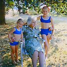 With Great-Granny Turner, Summer 1976 by Priscilla Turner