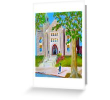 First Day Of School-St. Ambrose Elementary School Greeting Card