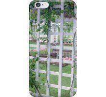 Butchart Gardens 9, 1984 iPhone Case/Skin