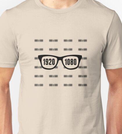 Glasses = HD Unisex T-Shirt