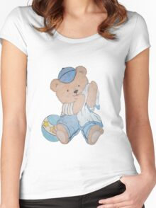 Troy Bear Women's Fitted Scoop T-Shirt