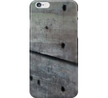 Driftwood Texture Photography iPhone Case/Skin
