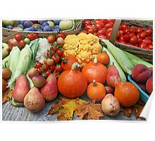 Summer Harvest Poster