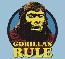 GORILLAS RULE Kids Clothes