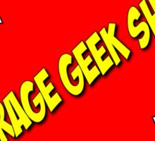 Average Geek Show Logo Sticker