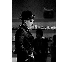 Charlie Chaplin _ BW Photographic Print