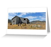 Outback Shearing Shed  Greeting Card