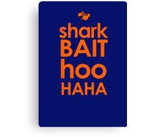 Shark Bait  Canvas Print
