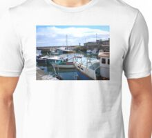 Carnlough Harbour, County Antrim, Northern Ireland Unisex T-Shirt
