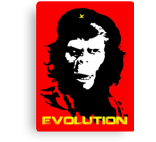 Planet of the apes Evolution Canvas Print
