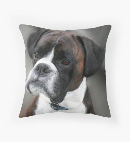 Biff again Throw Pillow