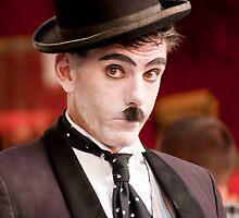 A Portrait of Charlie Chaplin - Colour by kael