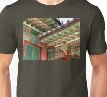 Palace Eaves (detail), Seoul, South Korea Unisex T-Shirt