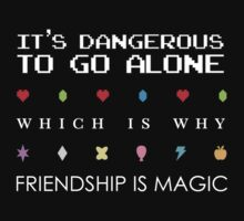 It's Dangerous Without Friends by AlicornDreams
