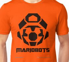 Mariobots! [Black (on red)] Unisex T-Shirt