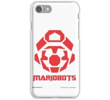 Mariobots! (RED) iPhone Case/Skin