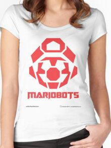 Mariobots! (RED) Women's Fitted Scoop T-Shirt