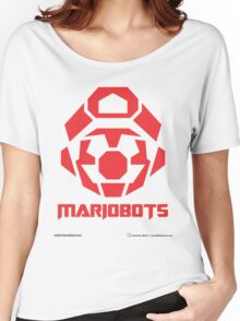 Mariobots! (RED) Women's Relaxed Fit T-Shirt