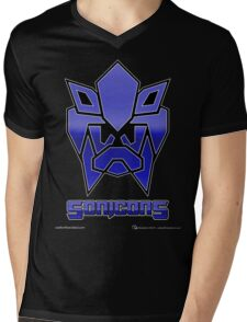 Sonicons! Mens V-Neck T-Shirt