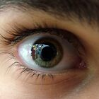 Eye Close-up 2 by Sharif Ajez