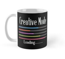 Creative Mode Loading Artist Crafters Design Mug