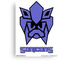 Sonicons! (FLAT) Canvas Print