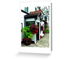 The Barley Mow Hersham Greeting Card