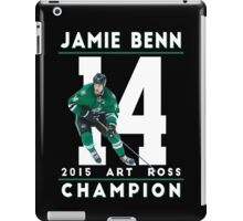 Jamie Benn 2015 Art Ross Champion iPad Case/Skin