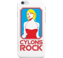 Cylons rock iPhone Case/Skin