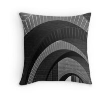 Arches at the Plaza 2 Throw Pillow