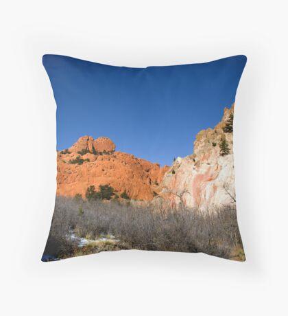 Garden of the Gods Landscape 1 Throw Pillow
