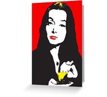 Morticia addams Greeting Card