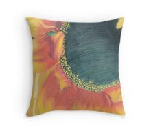 Prismacolor Flower Throw Pillow