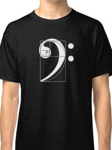 Golden Ratio Bass  Classic T-Shirt