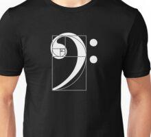Golden Ratio Bass  Unisex T-Shirt